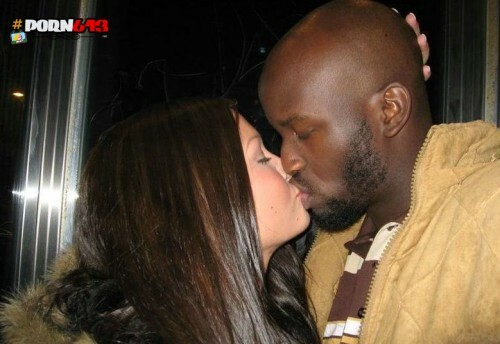 asian kissing black