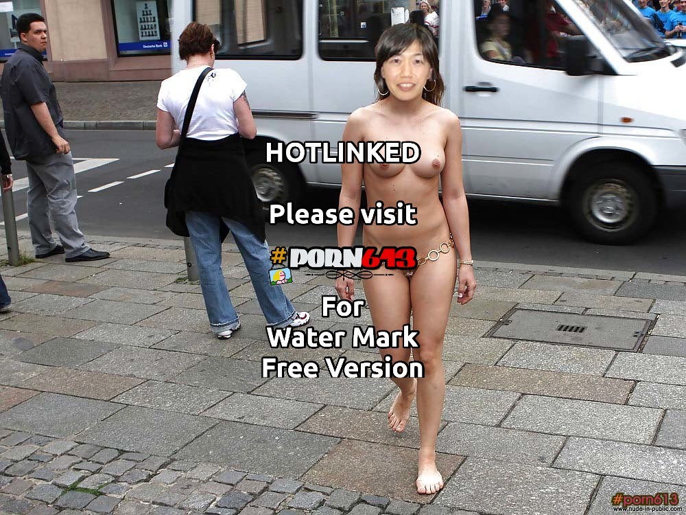 Japanese woman nudist in Europe