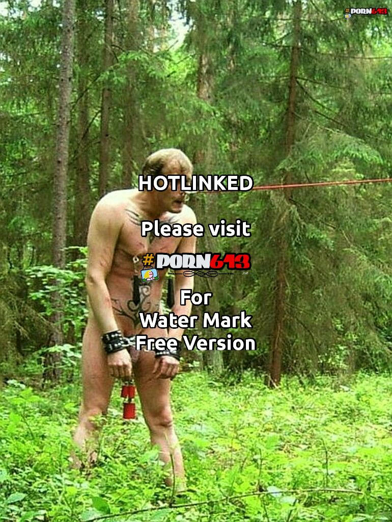 whipped on a leash through the forest - 24/7 slave
