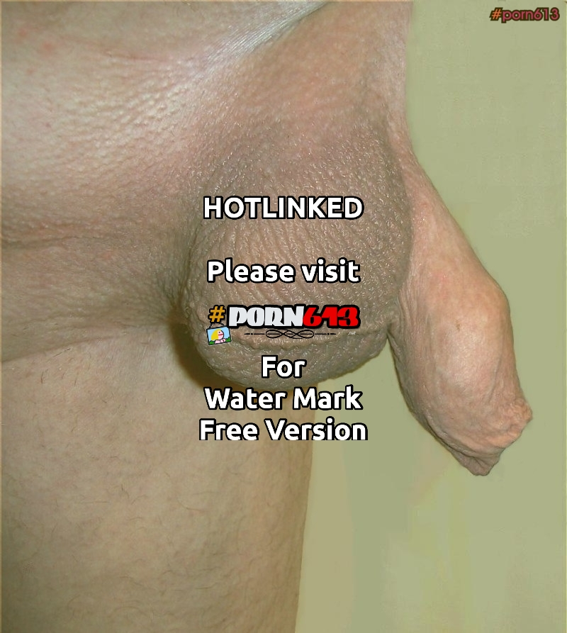 Shaved flaccid dick with foreskinand balls