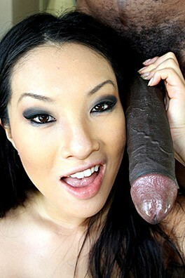 asian women worship big black cock #1